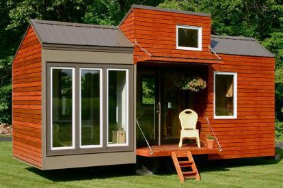 Tall Man's Tiny House