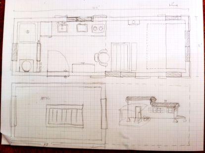 24 ft vardo with loft