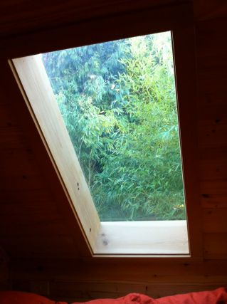 Gina's tiny house skylight