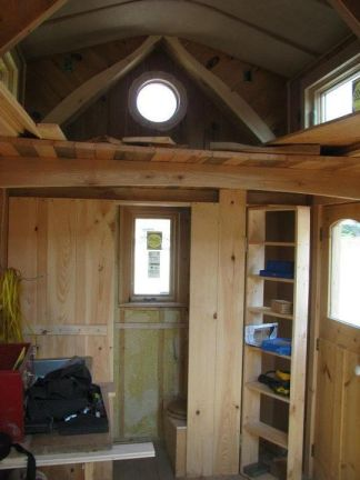 Gold Thread Tiny House loft