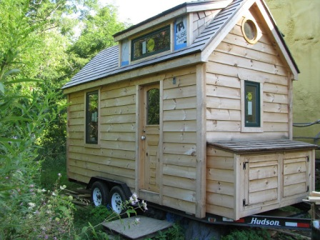 Gold Thread Tiny House