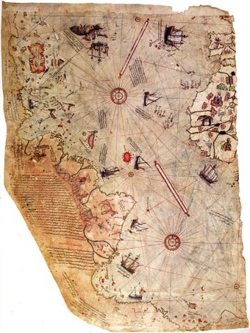 Piri Reis World Map 1513