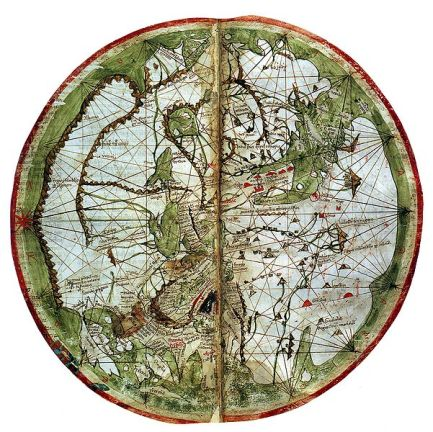 Pietro Vesconte's world map 1321