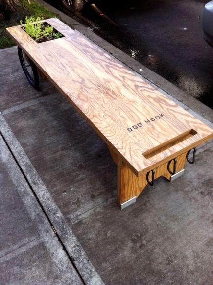 dog bench