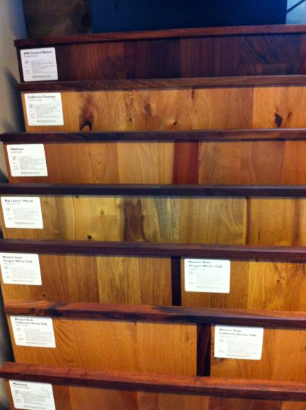 Reclaimed lumber at Sustain