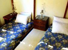 Kerosene lamps and futons