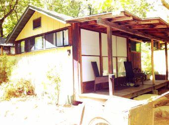 Our tatami cabin at Tassajara
