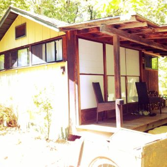Our tatami cabin at Tassajara