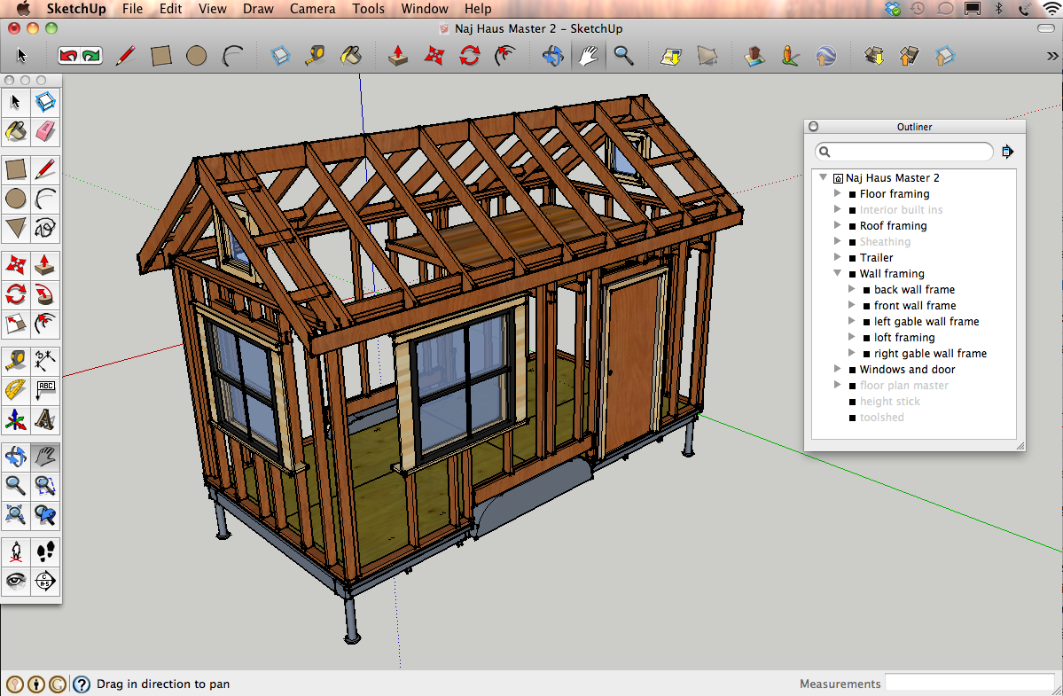 Designing a tiny house in SketchUp: tutorials & resources | Naj Haus