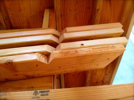rafter ends
