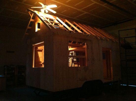 jack o lantern house front