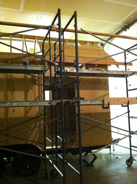 scaffolding first ply