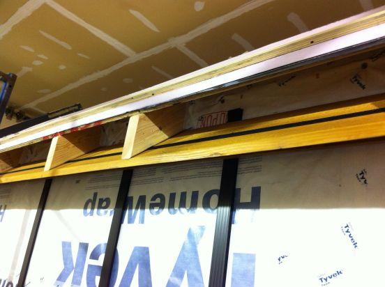 eaves installed 2