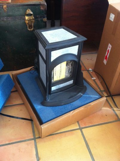 mini franklin gas stove