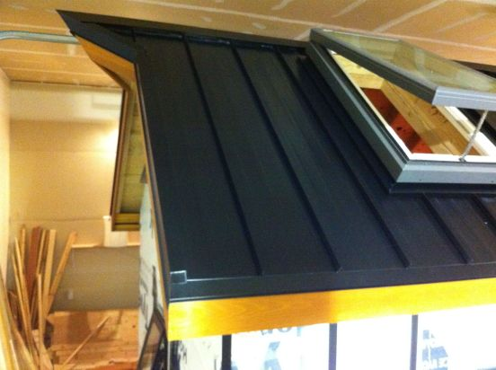 skylight installed naj haus