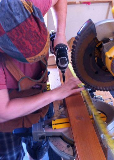 making corner trim