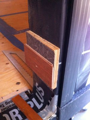 temp door jamb spacers