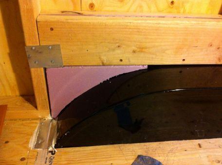 wheelwell foam insert