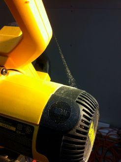 chop saw cobweb