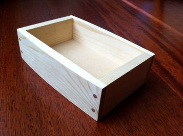 finished box