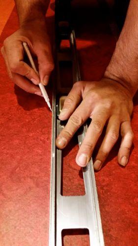 scribe cut line