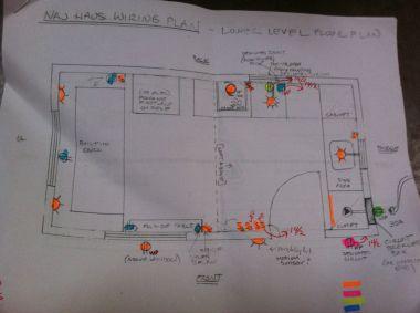 wiring floor plan view
